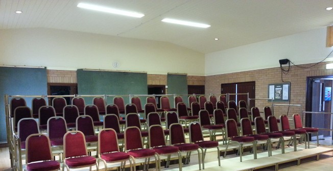 Portable Tiered Seating in Bedfordshire