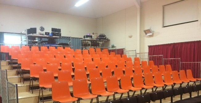 Tiered Seating Platforms in Bedfordshire