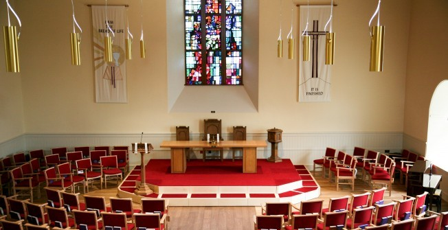 Contemporary Church Stage Design in Aley Green