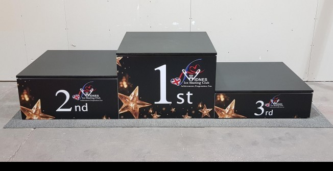 Award Podium in Neath Port Talbot